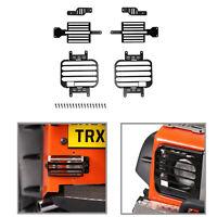 Für 1:10 Traxxas TRX4 D90 D110 RC Crawler Vorne Hinten Licht Metall Lampe Cover