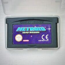 Metroid Zero Mission Nintendo Gameboy SP GBA Game Boy Advance Action Strategy EU