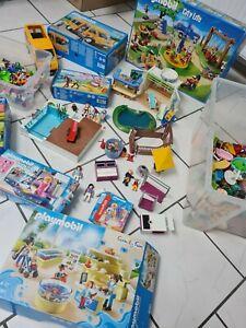Playmobil Konvolut Xxl Set Kinder 9272 9061 5024 6866 Aquarium Spielplatz