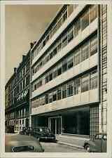 Paris, Immeuble à locaux commerciaux, rue des Jeûneurs Vintage silver print