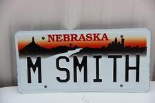 1997 Nebraska License Plate personalized M SMITH