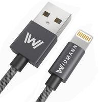 0,5M USB Widmann Lightning Ladekabel Schnellladekabel für Apple iPhone 7,8,X✔️