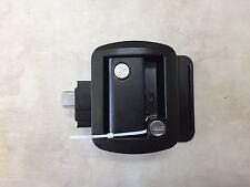 Flush Mount RV / Travel Trailer Entry Door Lock (Black)