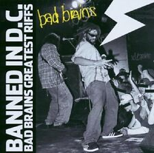 Bad Brains Banned In D.C. Greatest Riffs CD NEW SEALED 2003 Enhanced