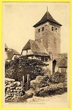 cpa Alsace 67 - DAMBACH la VILLE (Bas Rhin) PORTE de DIEFENTHAL