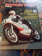 Motor Cyclist/Laverda 750 SFC/Honda CB100/Aermacchi 350/British 250MX GP