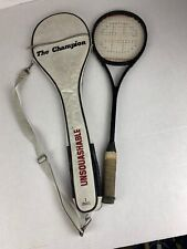 Vintage Unsquashable Squash Racquet. The Champion. Graphite Composite. W/cover