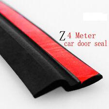 "4M 160"" Z-shape Universal Car Truck Motor Door Rubber Seal Hollow Weather Strip"