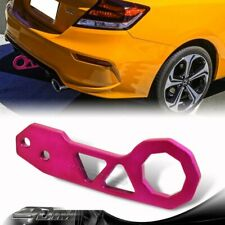 "2"" JDM Anodized CNC Billet Aluminum PURPLE Rear Bumper Racing Tow Hook For Ford"