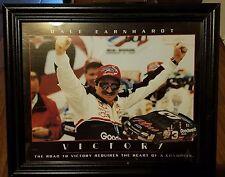 Dale Earnhardt #3 VICTORY Poster 1999 Original 20x16 with Frame NASCAR Winston