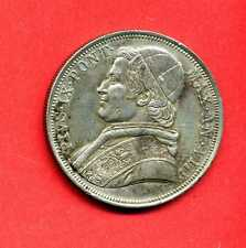 (ET 61) VATICAN PI IX SCUDO 1853 ANNÉE VIII (SUP)