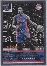 2015-16 PANINI REPLAY ROOKIE CARD #35: STANLEY JOHNSON #86/99 RC DETROIT PISTONS