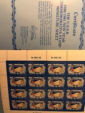 Russia 1980 Sc.4889 Zagor.5070 MINI SHEET New 1981 Year   MNHOG
