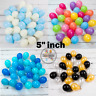 "25-100,  5""inch Balloons Small Round Wedding decor Latex Party Birthday Decor PD"