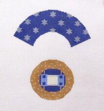 Needledeeva Jewish Torah Cupcake Handpainted Needlepoint Canvas