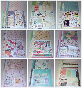 Huge Scrapbook Kit Lot - October Afternoon, My Mind's Eye, Teresa Collins & More