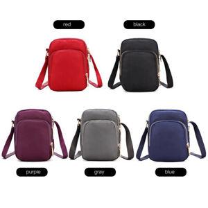 Fashion Women Multifunction Crossbody Zipper Mobile Phone Shoulder Bag GOO