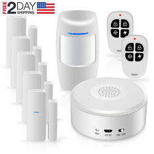 Smart Security System Wifi Alarm Kit W APP Push & Calling Alarms DIY No Monthly