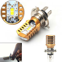 1x H4 20W LED Motorrad Scheinwerfer Birne Fern-Abblend-Strahl Lampe Roller 12V