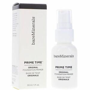 bare Minerals Original Prime Time Foundation Primer 1 fl oz / 30 ml NEW