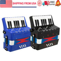 17-Key 8Bass Kids Accordion Children's Mini Musical Instrument Easy to Learn US