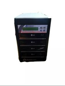 Used Microboards Technology Quic Disc Blu-ray Tower Duplicator 4 Writer Drives