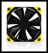 NA SAVP1 Chromax.YELLOW Anti Vibration Pads For 120/140Mm Fans 16 Pack YELLOW