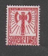 France - Timbres de service - Neuf ** Francisque - N°8 - 1943 -TB