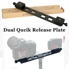 315mm Dual Quick Release Double QR Plate Arca-Swiss For Camera Tripod Ball Head
