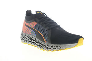 Puma Calibrate Runner Mono 19450301 Mens Black Running Athletic Shoes