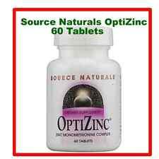 Source Naturals OptiZinc® -- 30mg, 60 Tablets,Exp Date;01/2019