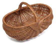 Prestige Wicker Traditional Carry Baskets Vintage Trug Basket
