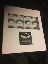 Lashbook 10 Pairs Of 3d Real Mink Lashes