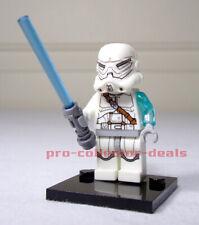 Star Wars Jek-14 Minifigure +Stand Freemakers Jedi Hunter Clone Mandalorian Sith