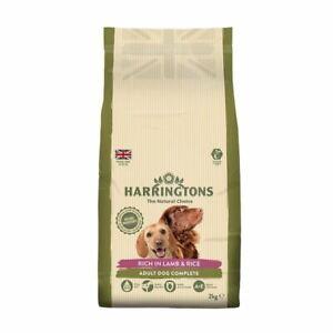 Harringtons Natural Complete Adult Dry Dog Food Lamb & Rice 15 kg Bulk Bag