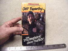 Realtree Presents Jeff Foxworthy The Incomplete Hunter Vhs Tape, New never Opene