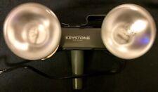 Keystone Model L-20 Movie Photo Light Bar for Indoor 8mm Color Movies Flood VTG