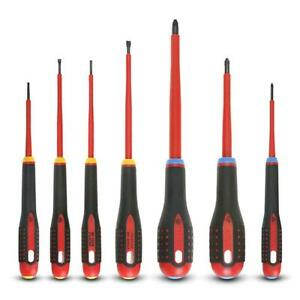 New Bahco 7pce 1000V Insulated Screwdriver Set High Performance Alloy Steel