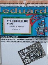 Eduard 1/72 SS549 Colour Zoom etch for the Eduard Focke Wulf Fw190A-8 kits