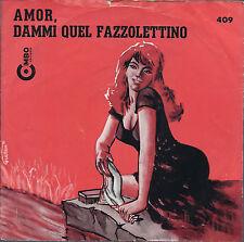 Fazzoletto Tasca SQUARE Fazzoletto di cotone DK BLU con RETTANGOLO ROSSO CH208