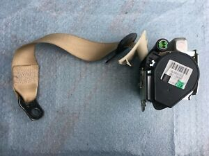 MERCEDES CLS W219 SEAT BELT REAR RIGHT CREAM OEM 2198602085