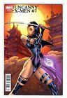 Uncanny X-Men #7 Psylocke J. Scott Campbell La Mole Spanish Variant NM+