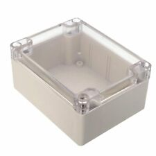 115x90x55mm Waterproof Clear Cover Plastic Electronic Cable Project Box