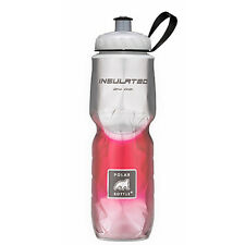 Polar Bottle 24oz Insulated Travel Drink Water Bottle BPA - Red Fade 0023C