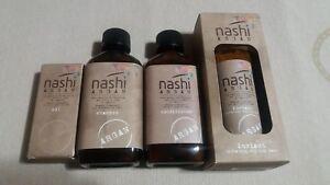 Nashi Argan Shampoo, Conditioner, Instant hydrating styling mask and Argan Oil
