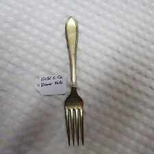 Vintage! Victor S. Co. Dinner Fork Pattern: Lexington Circa: 1909s.