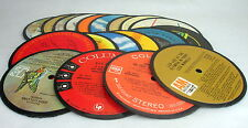 20 Diy Recycled Record Drink Coasters - Record Centers for you to finish