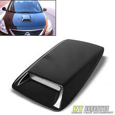 JDM Fd/Fc Racing Style Air Flow Vent Turbo Hood Scoop Black Paintable
