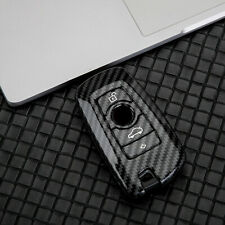 Carbon Fiber Remote Key Case Protection Shell Cover Fit For BMW F10 F11 F30 F31