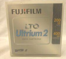 NEW FUJI FILM LTO ULTRIUM 2 DATA CARTRIDGE 200GB 400GB